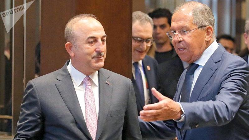 لافروف وأوغلو.. تفاهمات هشة بشأن سورية.  أرشيفية