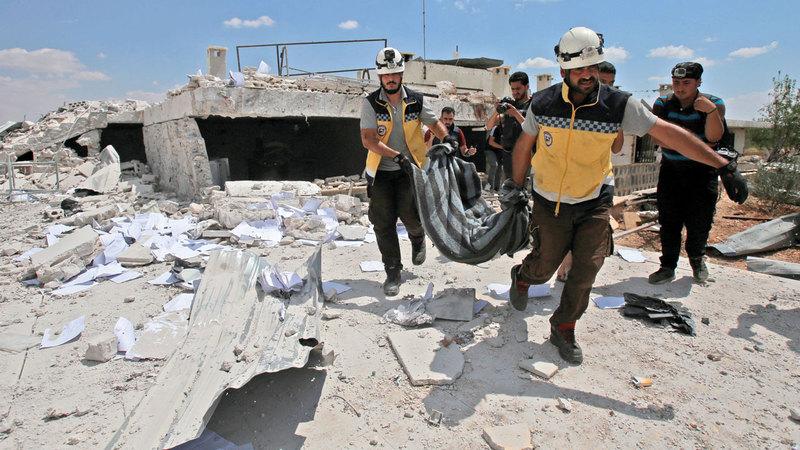 معركة إدلب كشفت عن حجم الخلاف الروسي - التركي. أ.ف.ب