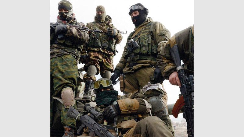 موسكو تستعين بالمرتزقة لتقليص كلفة الحرب. أرشيفية