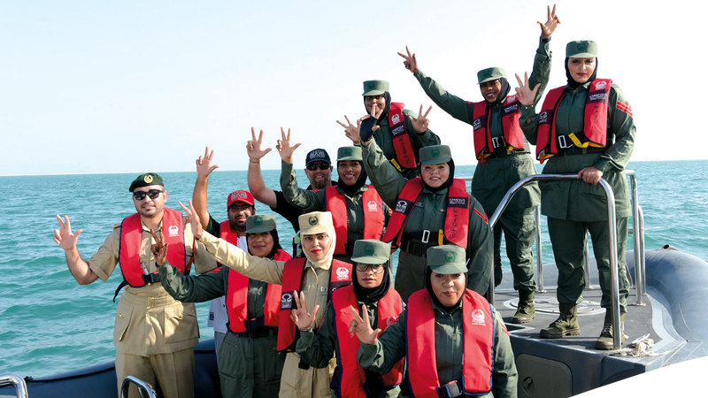 المبادرة جاءت لتلبية احتياجات المجتمع في بعض الفعاليات النسائية البحرية. من المصدر
