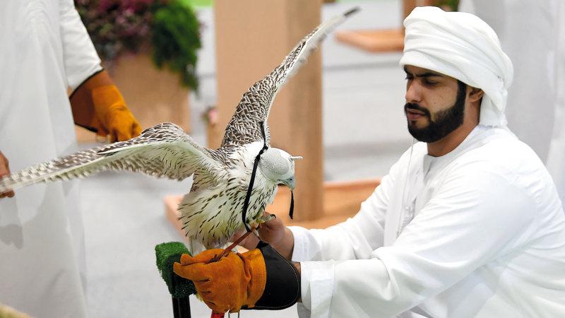 دورة العام الجاري من «المعرض» تسعى لتسليط الضوء على مفاهيم التسامح وقيمه السامية التي امتاز بها شعب الإمارات.  تصوير: إريك أرازاس
