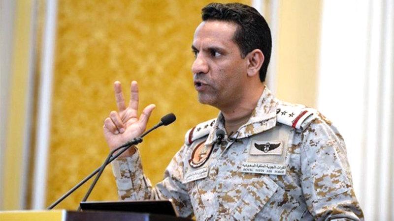 العقيد تركي المالكي:  «قوات تحالف دعم الشرعية في اليمن  مستمرة في تنفيذ الإجراءات الرادعة ضد  ميليشيات الحوثي الإرهابية».
