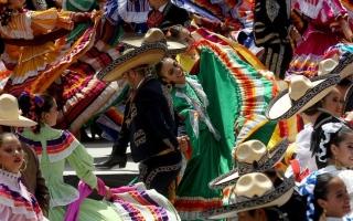 """الصورة: رقصة """"غينتس"""" الفولكلورية"""