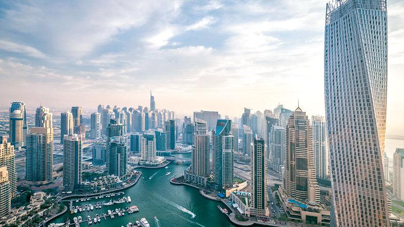 المنافسة بين المطوّرين أسهمت في تنوّع المعروض في سوق دبي العقارية. أرشيفية