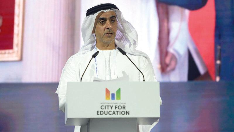 سيف بن زايد يفتتح الدورة الثالثة من قمة أقدر العالمية في