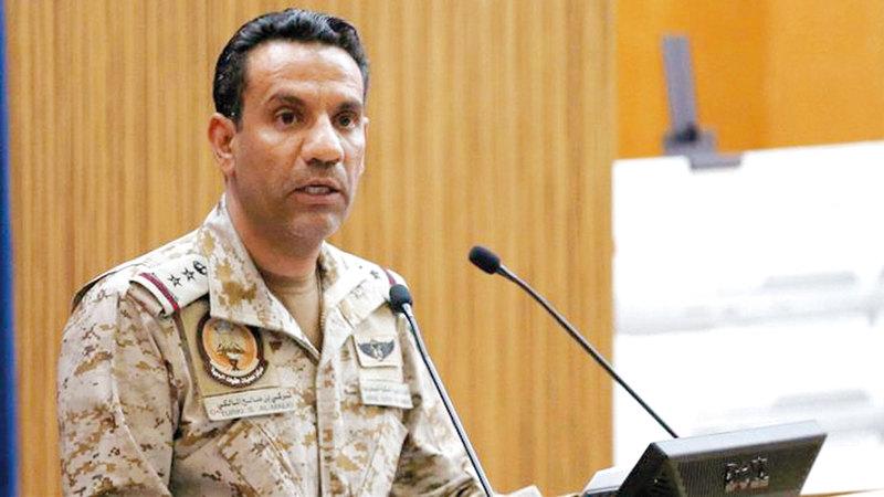 العقيد تركي المالكي:  «الميليشيات الحوثية الإرهابية مستمرة في  ممارساتها اللاأخلاقية باستهداف المدنيين».