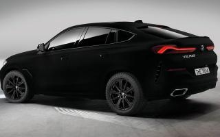 الصورة: «بي إم دبليو إكس 6 فانتابلاك».. السيارة الأكثر سواداً في العالم