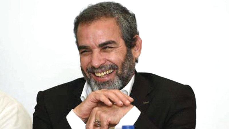 الفنان أحمد عبدالعزيز رئيس المهرجان القومي للمسرح.  أرشيفية
