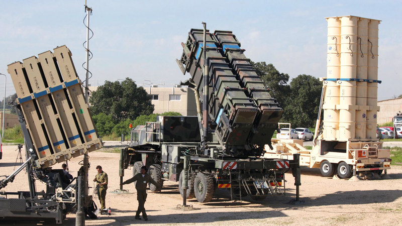 إسرائيل تمتلك أنظمة دفاعية متطورة.  أ.ف.ب