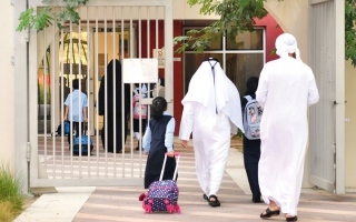 الصورة: 1.1 مليون طالب وطالبة يبدأون الدراسة اليوم