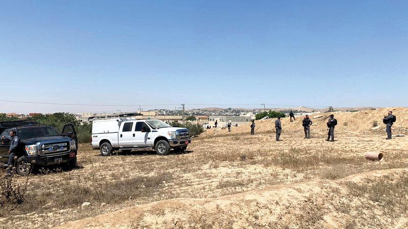 وحدات إسرائيلية مختلفة شاركت في اقتحام القرية. الإمارات اليوم
