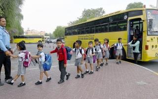 الصورة: بالصور.. العودة إلى المدارس 2019