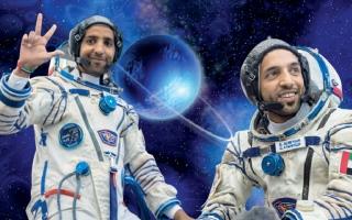 مركز محمد بن راشد للفضاء وناشونال جيوغرافيك يوثقان رحلة أول رائد فضاء إماراتي إلى محطة الفضاء الدولية