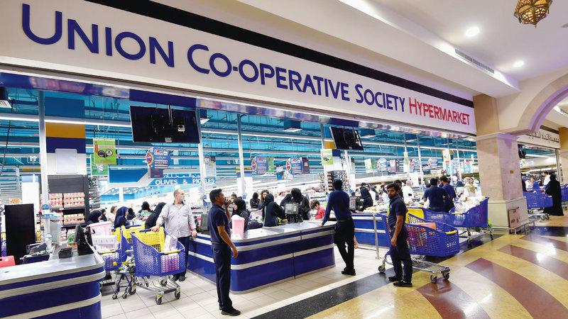 «تعاونية الاتحاد» ستتخذ قراراً خلال الفترة المقبلة بالعمل خارج دبي للمرة الأولى. تصوير: باتريك كاستيلو