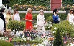 الصورة: حضور زوجات الرؤساء في القمــم العالمية يحطّ من قيمتهنّ