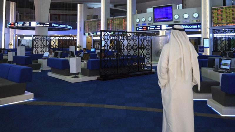 البنوك الأكثر ارتفاعاً بين قطاعات سوق دبي الأسبوع الماضي. تصوير: أشوك فيرما