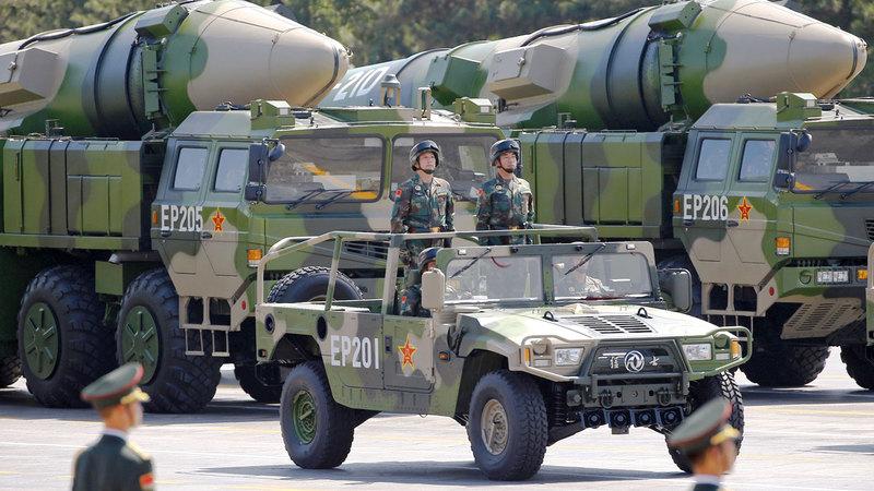 تطوير الصين أسلحة هجومية يهدّد التفوق الأميركي.  رويترز