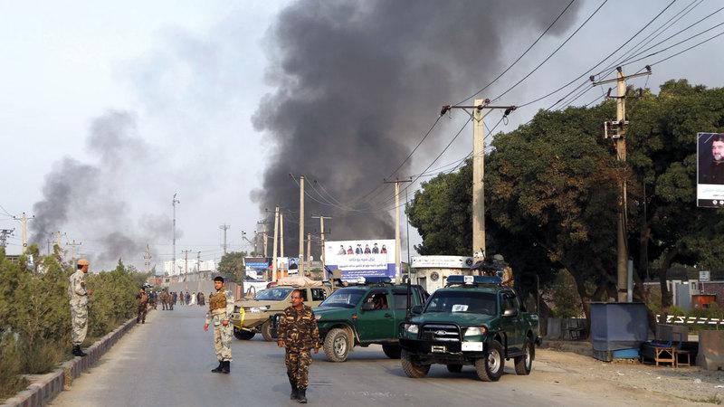 طالبان تفاوض من موقف قوة بعد الهجمات المتكررة. أ. ب.