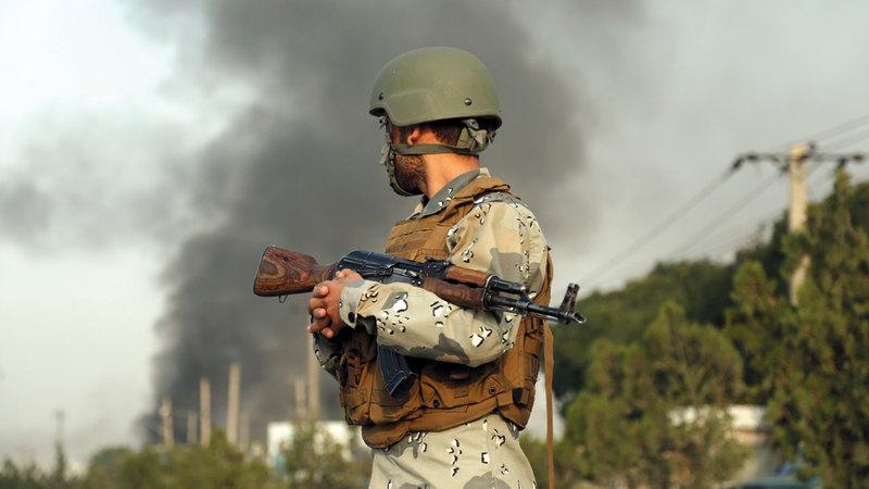 «طالبان» تفاوض من موقف قوة بعد الهجمات المتكررة.  أ.ب