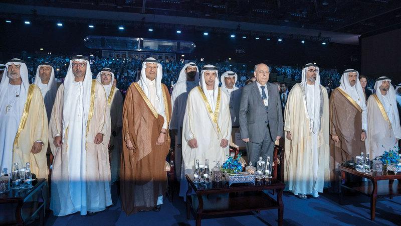 هزاع بن زايد افتتح مؤتمر الطاقة العالمي تحت شعار «الطاقة من أجل الازدهار».  وام