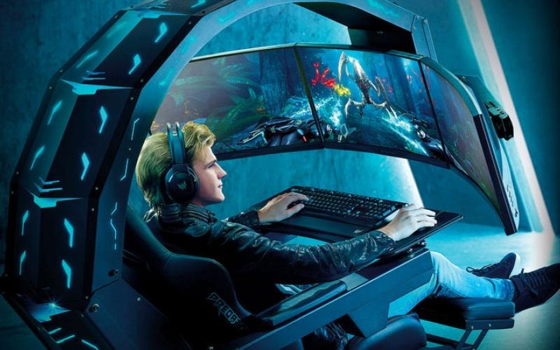 الصورة: «آيسر» تطلق مقعداً مخصصاً للألعاب