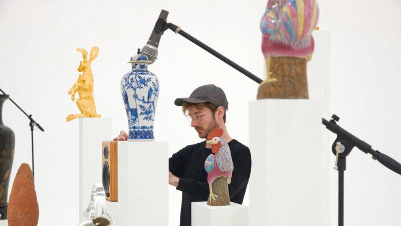 أوليفر بير: العمل الذي كُلفت به في فن أبوظبي يتناغم بشكل مباشر مع روح المدينة. من المصدر