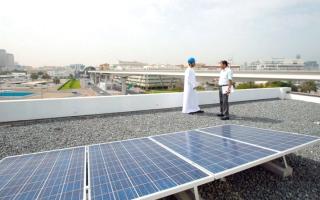 الصورة: «مواصفات»: نظام للرقابة على منتجات الطاقة الشمسية