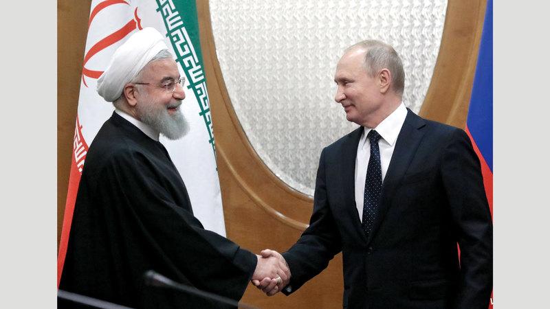 الانحياز الروسي - الإيراني لبعضهما يشوبه الغموض. أرشيفية