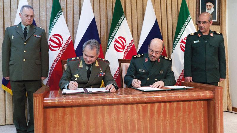 انطلاق الطائرات الروسية من قاعدة جوية إيرانية غير مسبوق. أ.ب