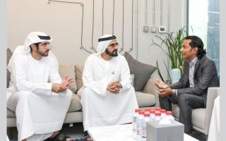 الصورة: محمد بن راشد: دبي تحوّلت إلى «سيليكون فالي» الشرق الأوسط