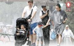 الصورة: استمرار انقطاع الكهرباء في 430 ألف منزل في اليابان بعد إعصار فاكساي