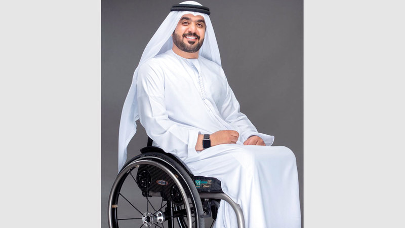 عبد الله بن طوق:  «لابد من توفير شركة مختصة في الدولة، لصناعة  الكراسي المتحركة المتطورة».