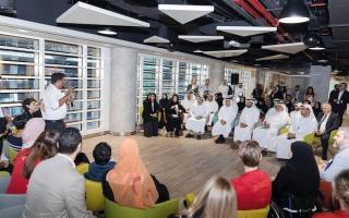 الصورة: «المساهمات المجتمعية» تتبنّى 10 مشروعات لدعم أصحاب الهمم في أبوظبي