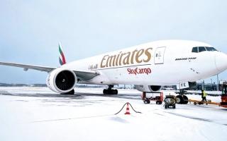 الصورة: «الإمارات للشحن الجوي» تكمل 5 سنوات في خدمة بلجيكا والنرويج