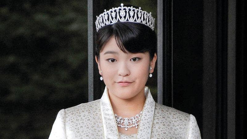 الأميرة ماكو تنازلت عن لقبها من أجل الزواج.  أرشيفية