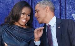 الصورة: ميشـيل أوباما: زوجــي خسر ذكـر الأشياء الجميلة في كتابه