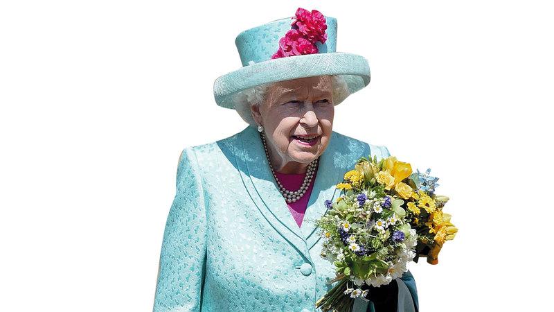 الملكة البريطانية تتبنى ممارسات مستدامة للعيش في حياتها اليومية.  غيتي