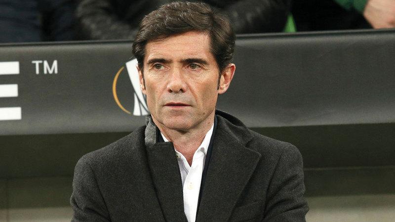 مارسيلينو أُقيل من تدريب فالنسيا الأربعاء الماضي. أ.ب