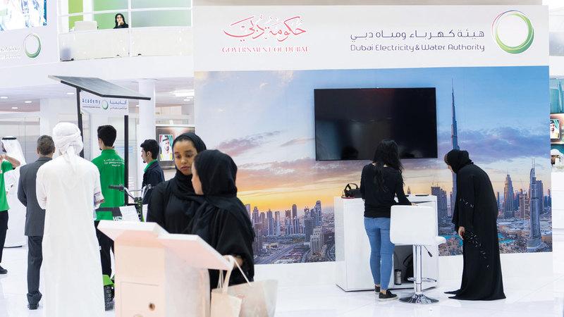 «ديوا»: دولة الإمارات مركز للطاقة النظيفة وهو توجه استراتيجي محلي واتحادي فيها. تصوير: أحمد عرديتي