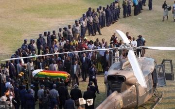 الصورة: جثمان موغابي سيدفن «خلال 30 يوما» في زيمبابوي