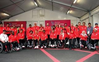 56 لاعباً يحملون آمال الإمارات في «بارالمبية غرب آسيا»