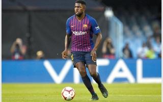 أومتيتي يغيب عن برشلونة 6 أسابيع للإصابة