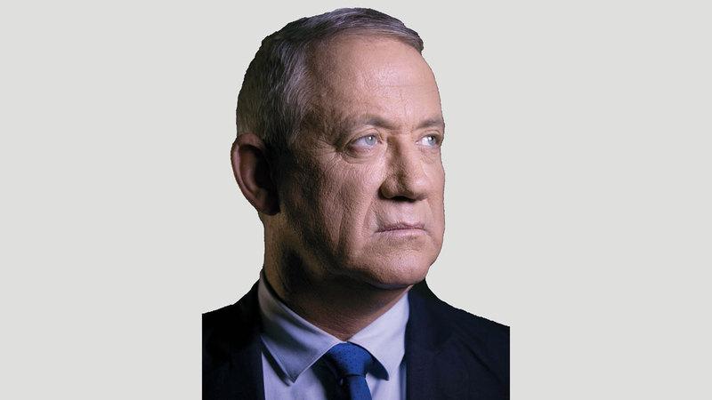 زعيم التحالف الوسطي «أزرق أبيض» بيني غانتس.  أ.ب