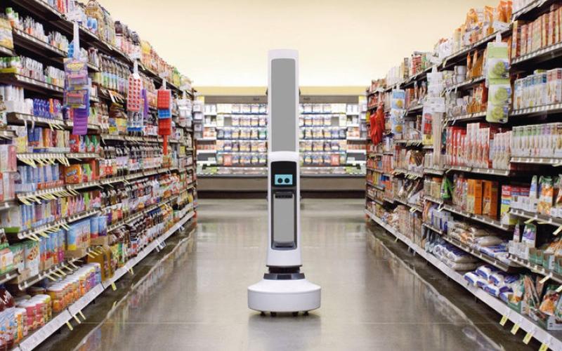 الصورة: «روبوتات جرد الرفوف» تستطيع إحصاء 700 سلعة في ثانية