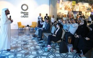 الصورة: 8000 نقطة إنترنت لخدمة 300 ألف مستخدم في «إكسبو 2020 دبي» يومياً
