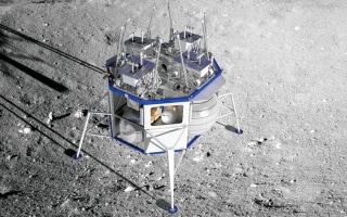 الصورة: عالِم فضاء أردني ينضم لمشروع بناء محطة على القمر