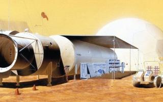 الصورة: علماء يخلطون الأسمنت لأول مرة في الفضاء