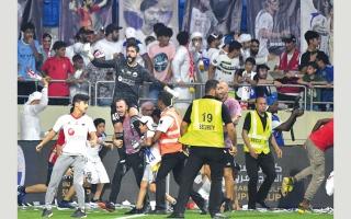 الصورة: «الانضباط» تفرض غرامات بـ 170 ألف درهم بسبب مباراة السوبر