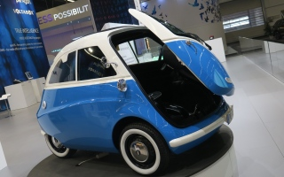 الصورة: سيارة ألمانية متناهية الصغر.. مثالية للمدن المزدحمة