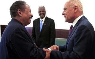 الصورة: الجامعة العربية تؤكد التزامها بدعم السودان
